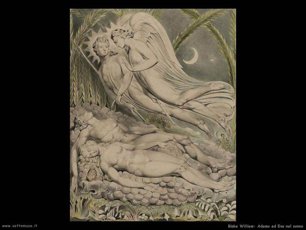 Adamo ed Eva dormienti