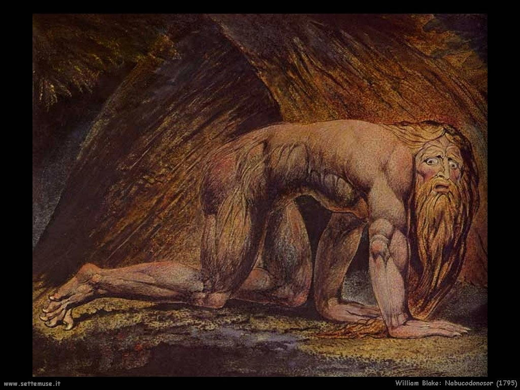william blake biografia e opere