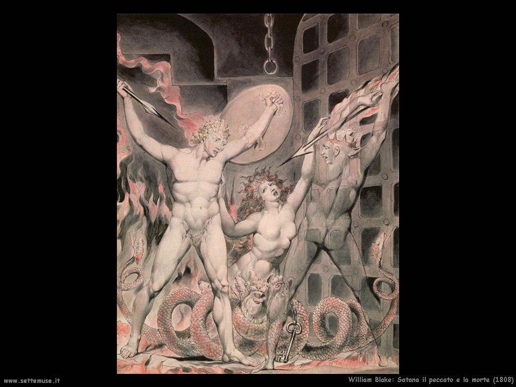 Satana il peccato e la morte (1808)