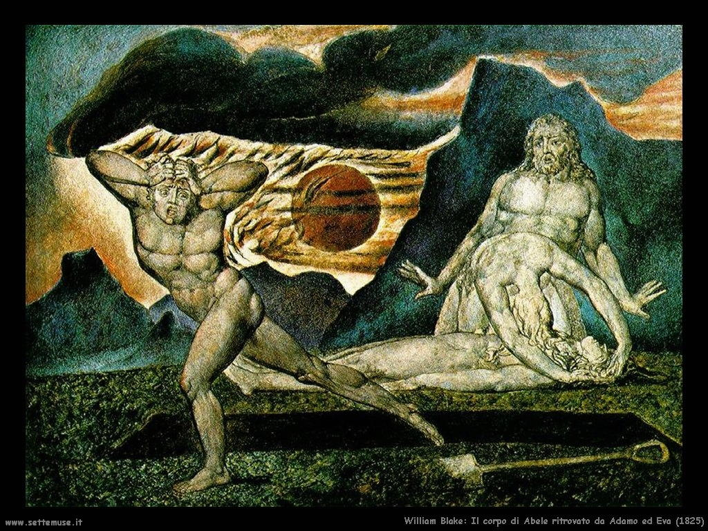 Il corpo di Abele trovato da Adamo ed Eva (1825)