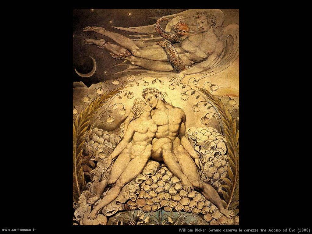 Satana osserva Adamo ed Eva (1808)