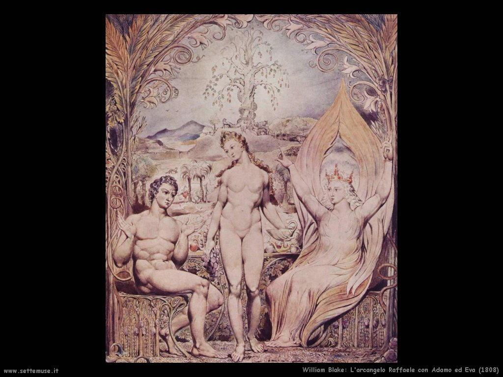 Arcangelo Raffaele con Adamo ed Eva (1808)