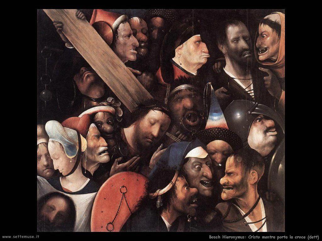 bosch cristo con la croce 3