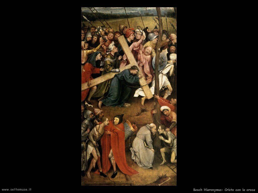 bosch cristo con la croce 2