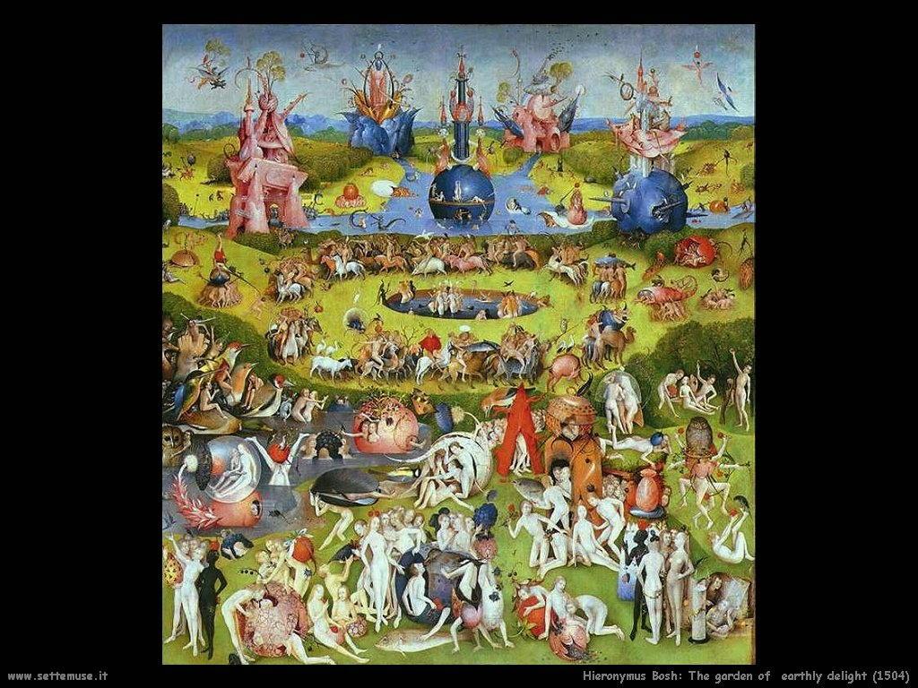 Il giardino dei piaceri terrestri particolare (1504)