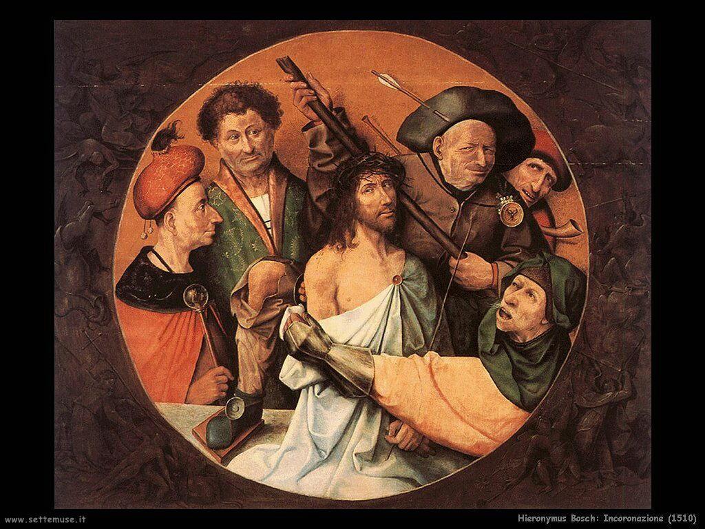 hieronymus bosch 030 incoronazione di spine 1510