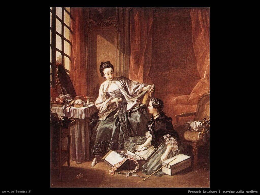 Il mattino della modista (1746)