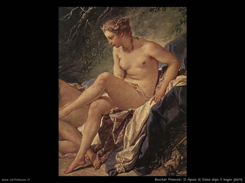 Riposo di Diana dopo il bagno (dett)