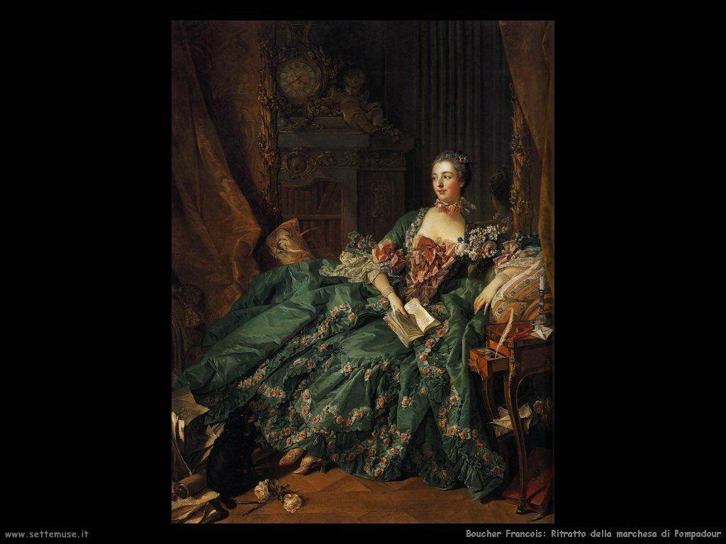 Ritratto della marchesa de Pompadour