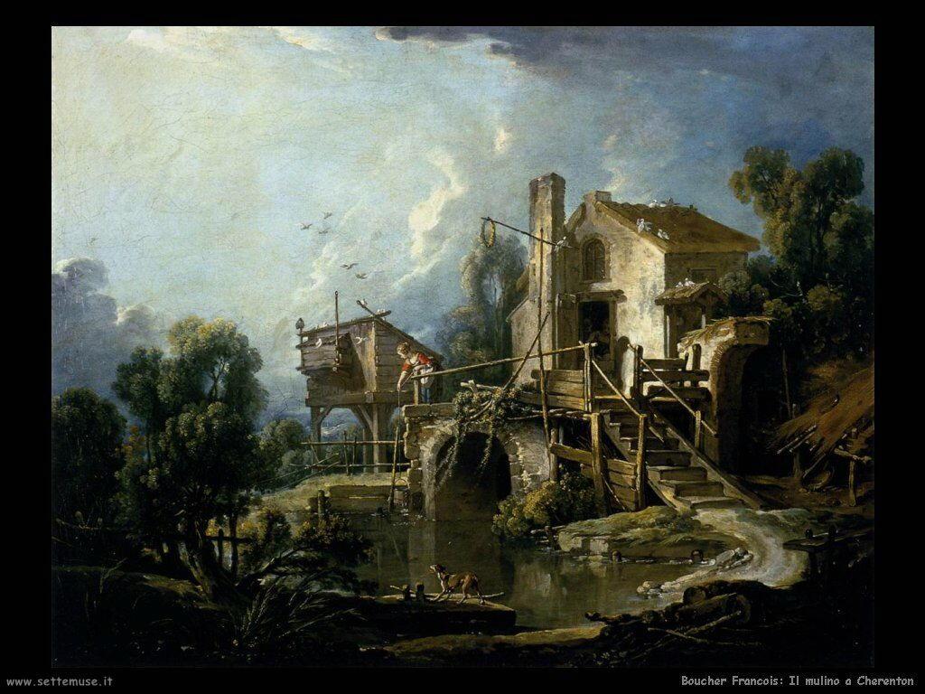 Il mulino a Charenton