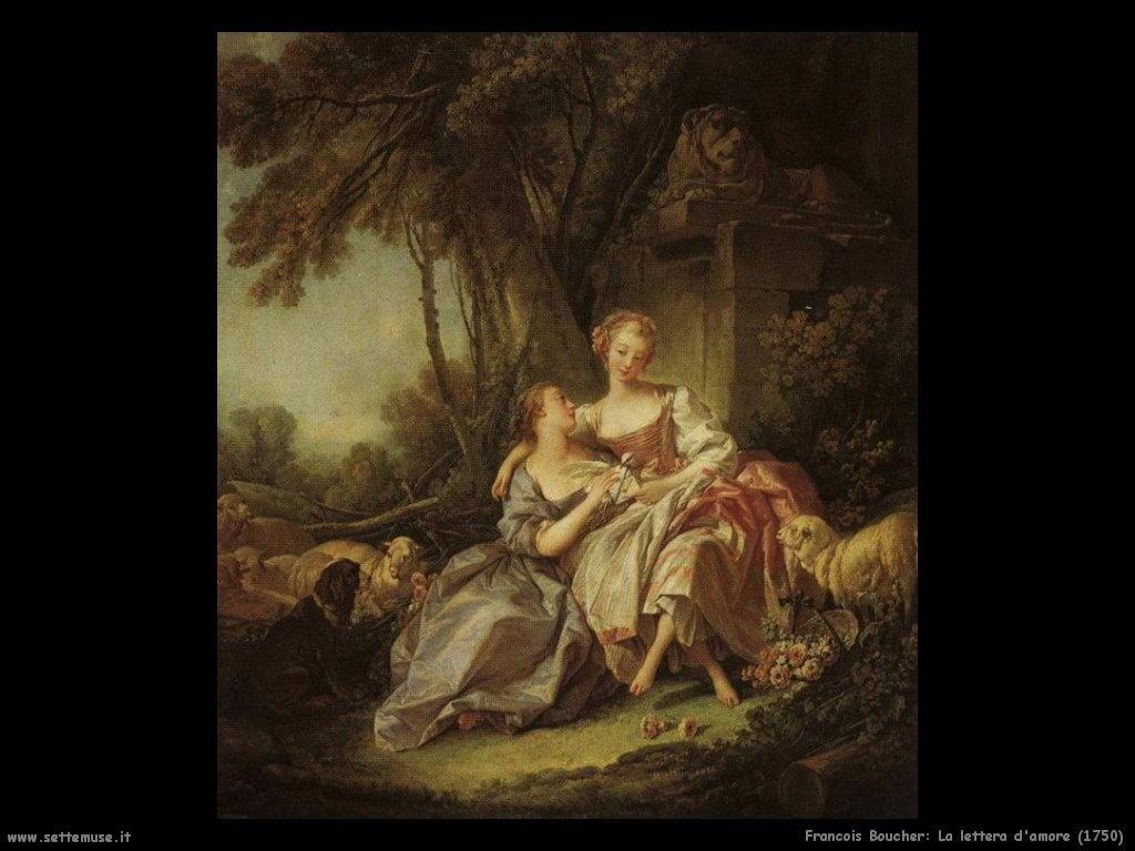 La lettera d'amore (1750)