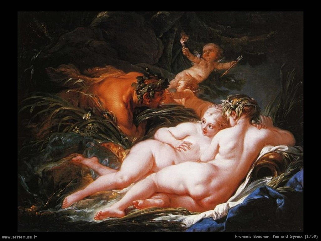 Pan and Syrinx (1759)