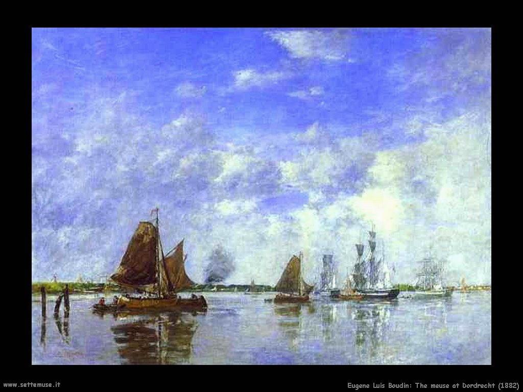 Eugène Louis Boudin_the_meuse_at_dordrecht_1882