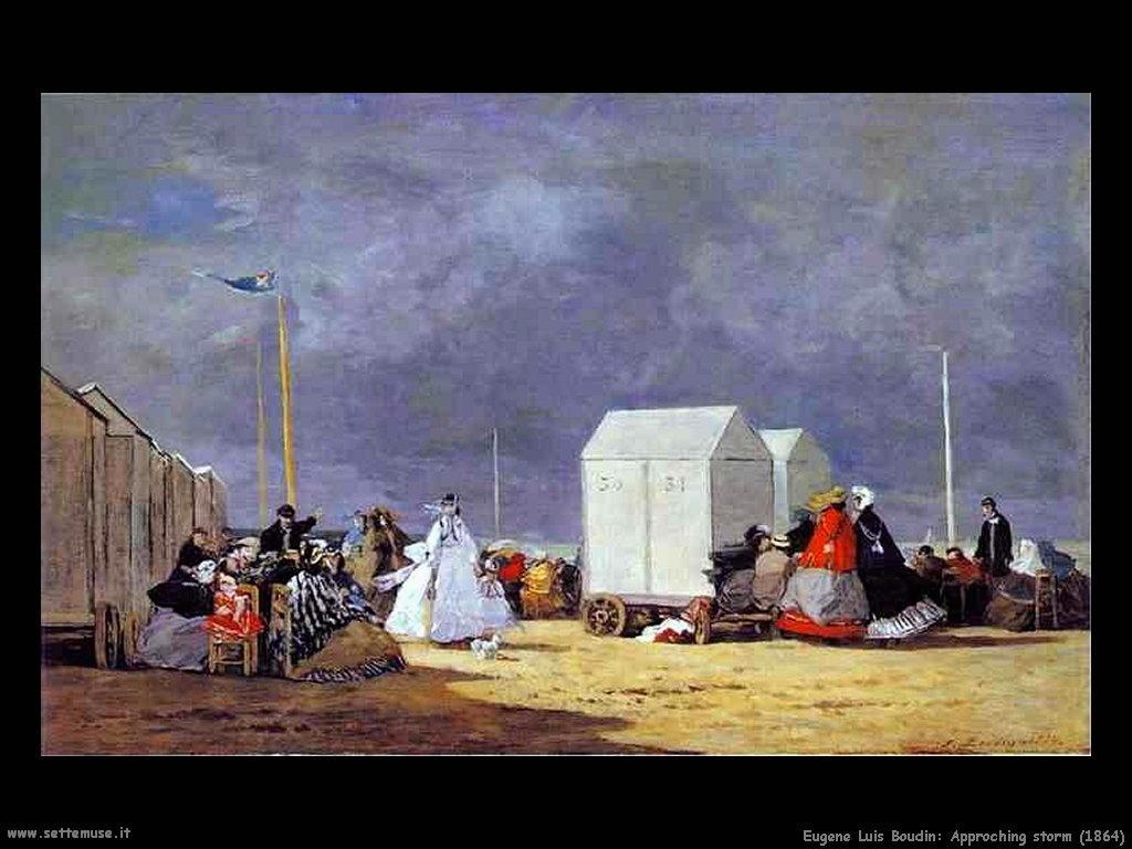 Eugène Louis Boudin_approaching_storm_1864