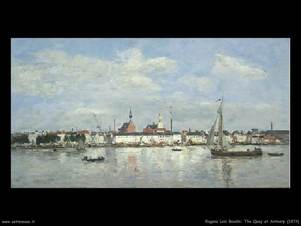 Eugène Louis Boudin_The_Quay_at_Antwerp_1874