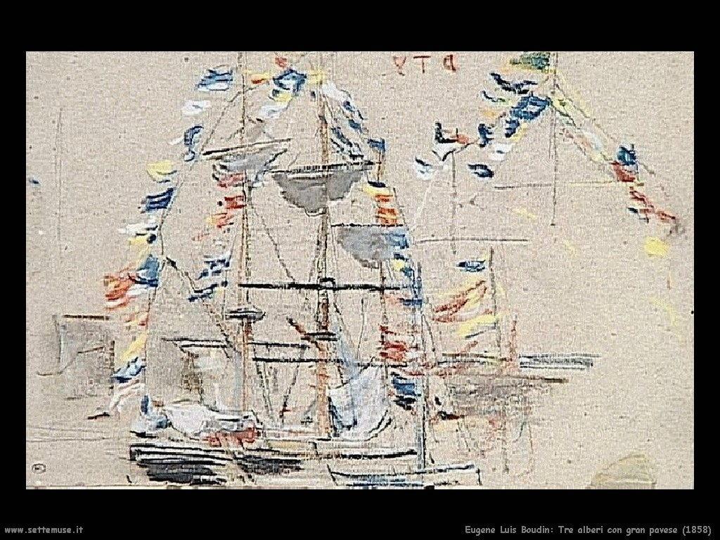 Eugène Louis Boudin_tre_alberi_con_gran_pavese_1858