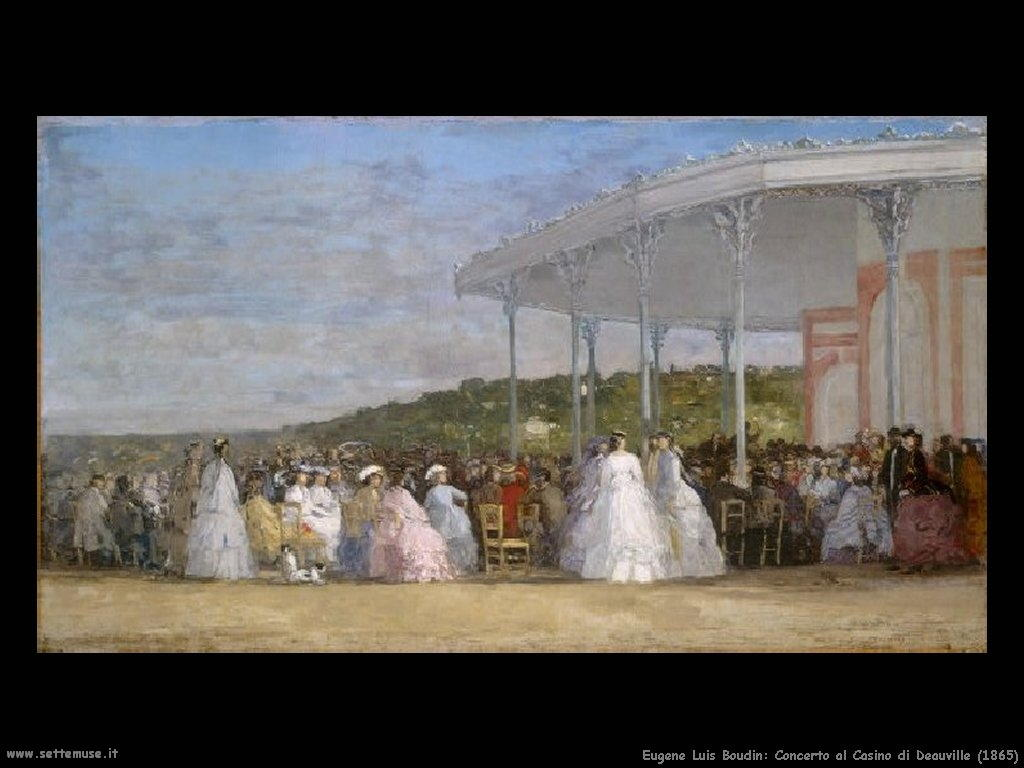 Eugène Louis Boudin_Concert_at_the_Casino_of_Deauville_1865