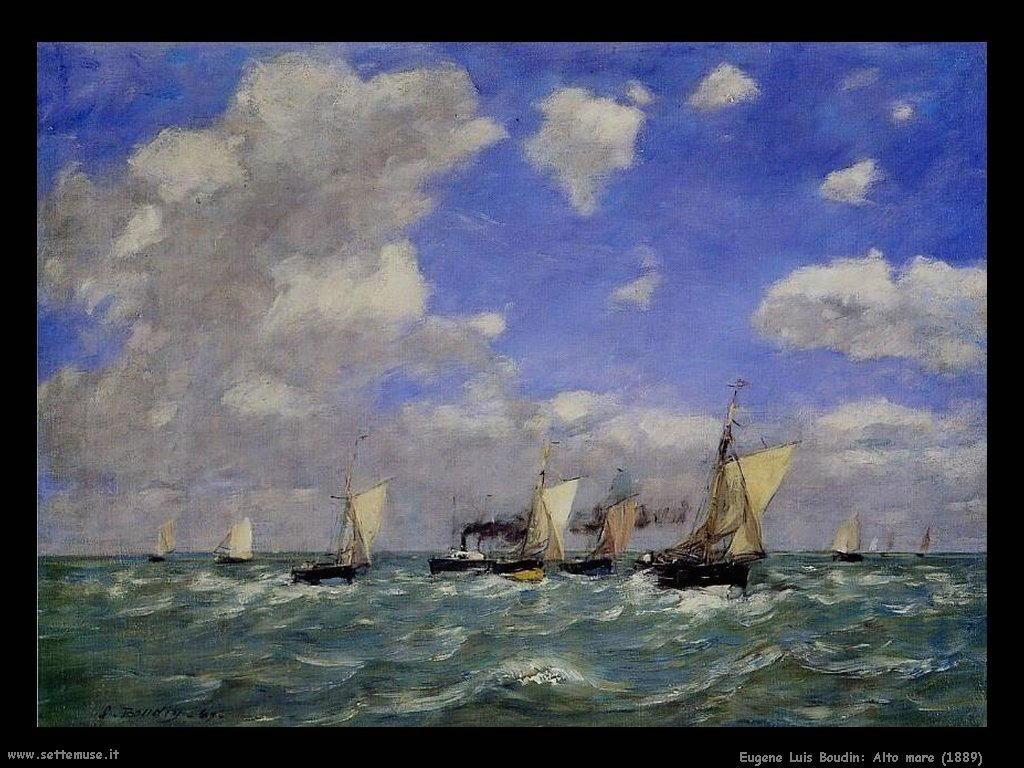 Eugène Louis Boudin_alto_mare_1889