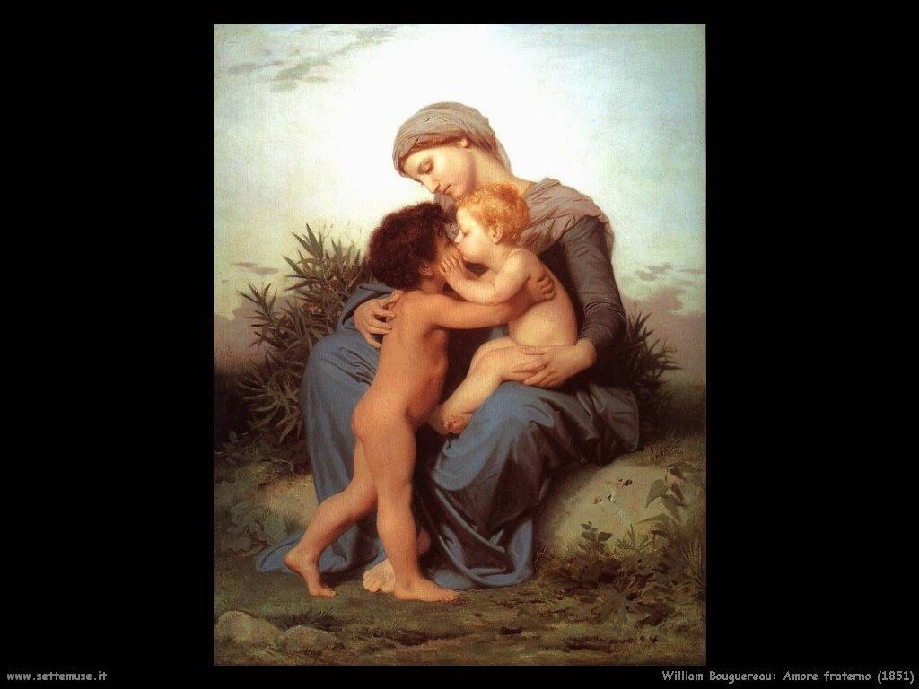 William Bouguereau _amore_fraterno_1851