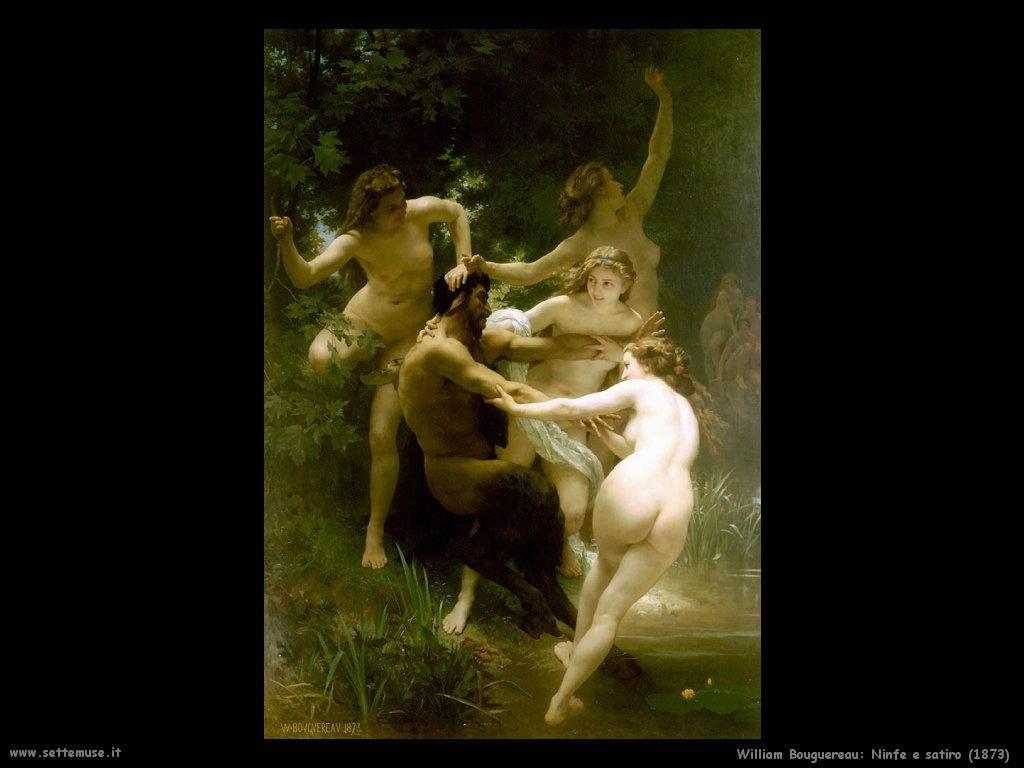 William Bouguereau _ninfa_e_satiro_1873