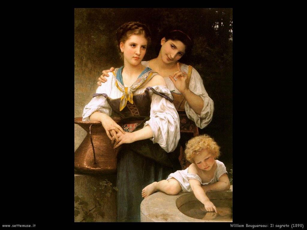 William Bouguereau _il_segreto_1890