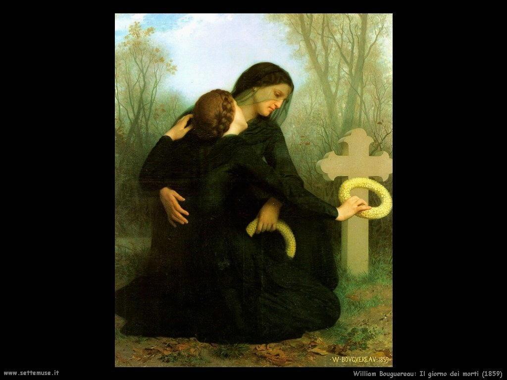 William Bouguereau _il_giorno_dei_santi_1859