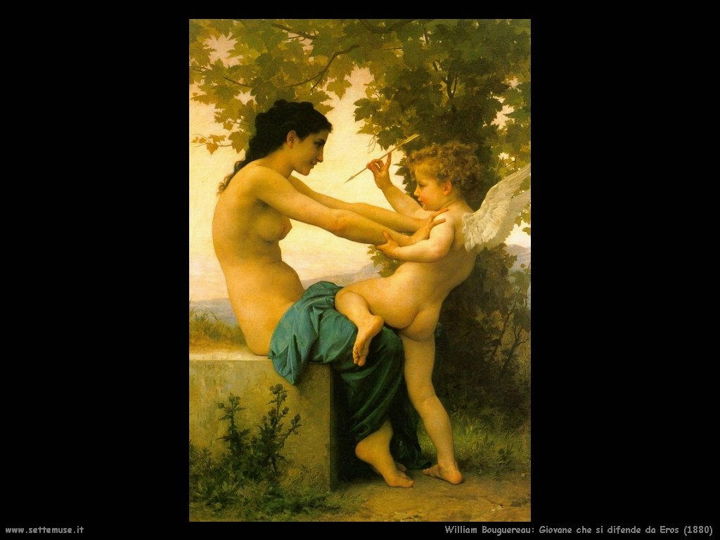 William Bouguereau_giovane_si_difende_da_eros_1880