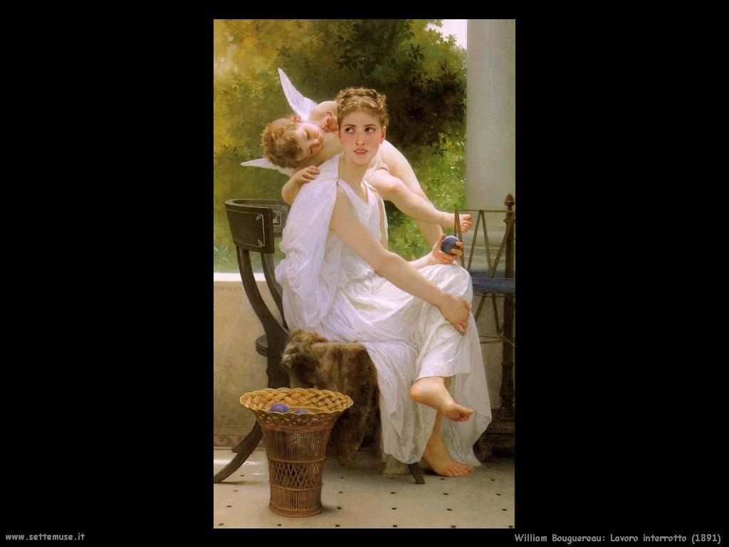 William Bouguereau _lavoro_interrotto_1891
