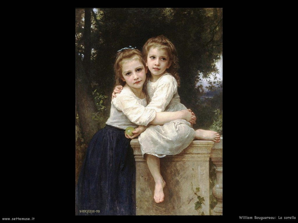 William Bouguereau_la_sorella