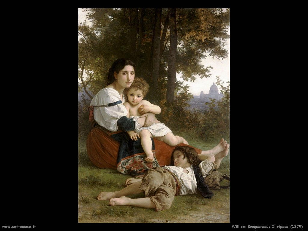 William Bouguereau_il_riposo_1879
