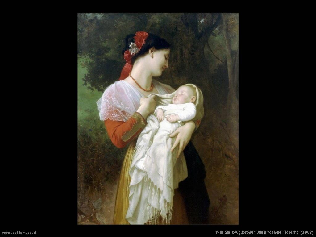 William Bouguereau _ammirazione_materna_1869