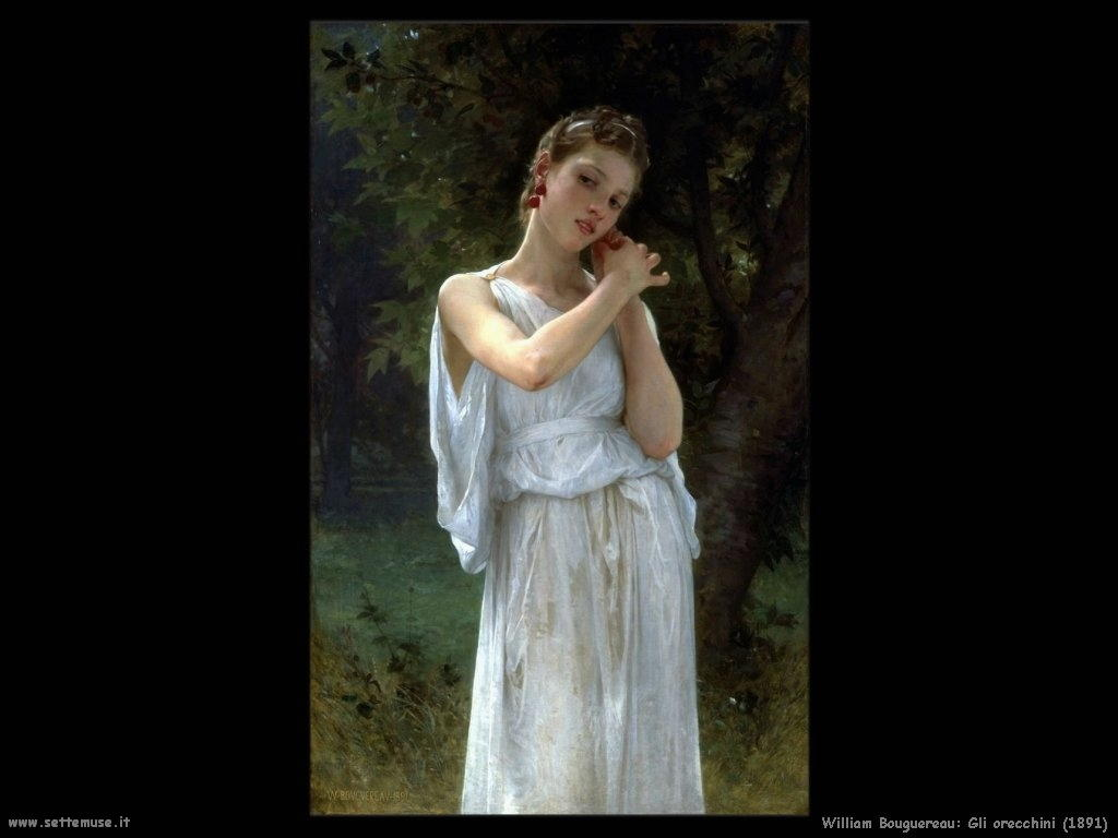 William Bouguereau_gli_orecchini_1891