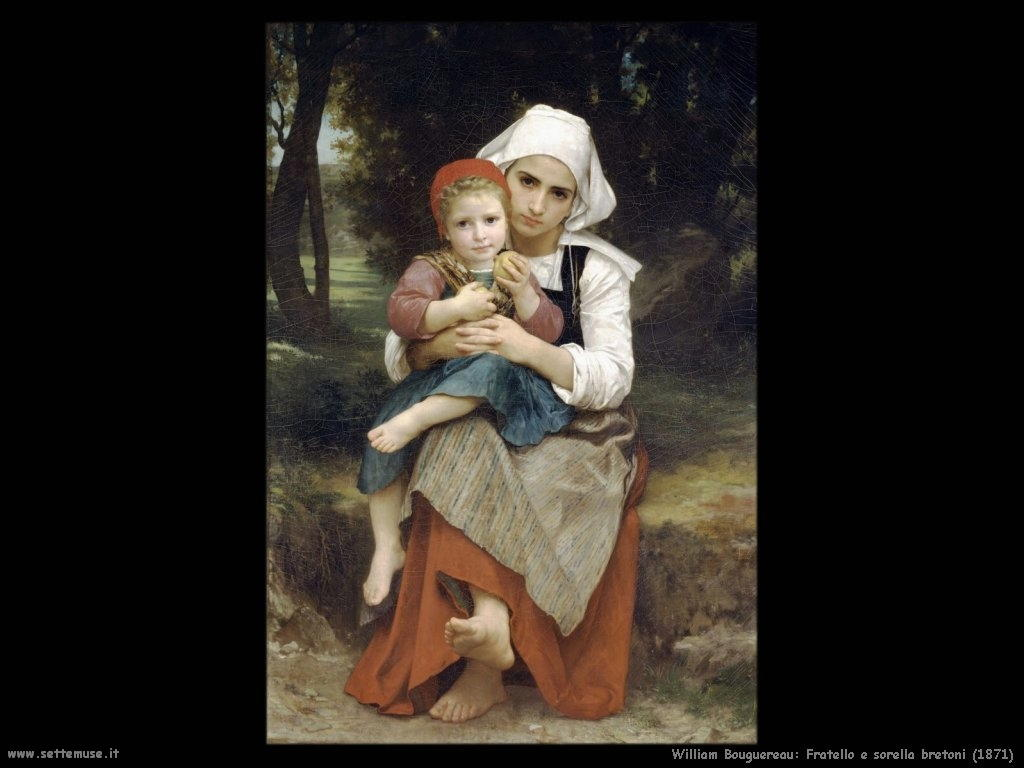 William Bouguereau_fratello_e_sorella_bretoni_1871
