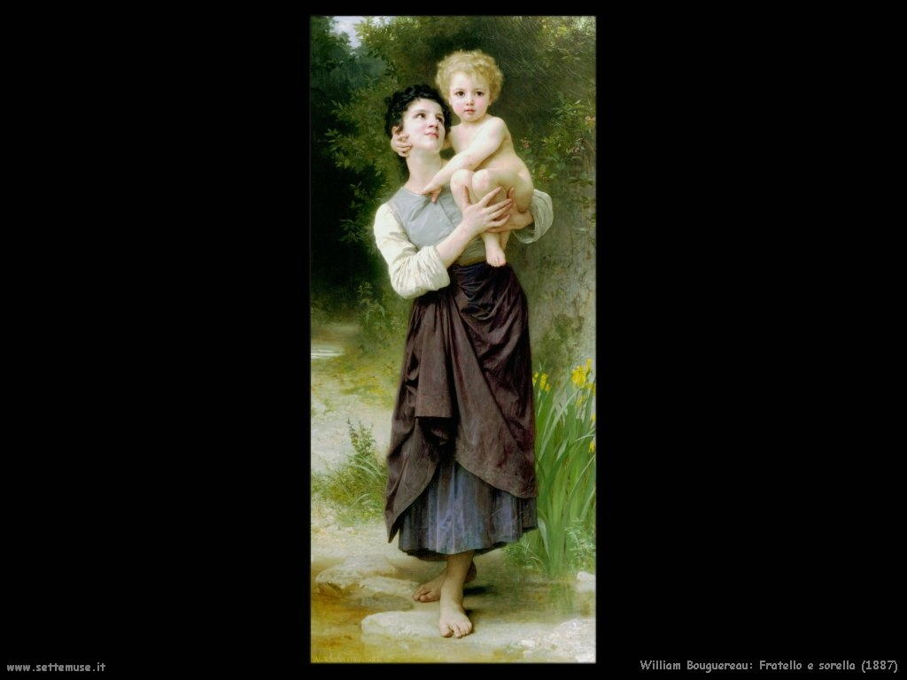 William Bouguereau_fratello_e_sorella_1887