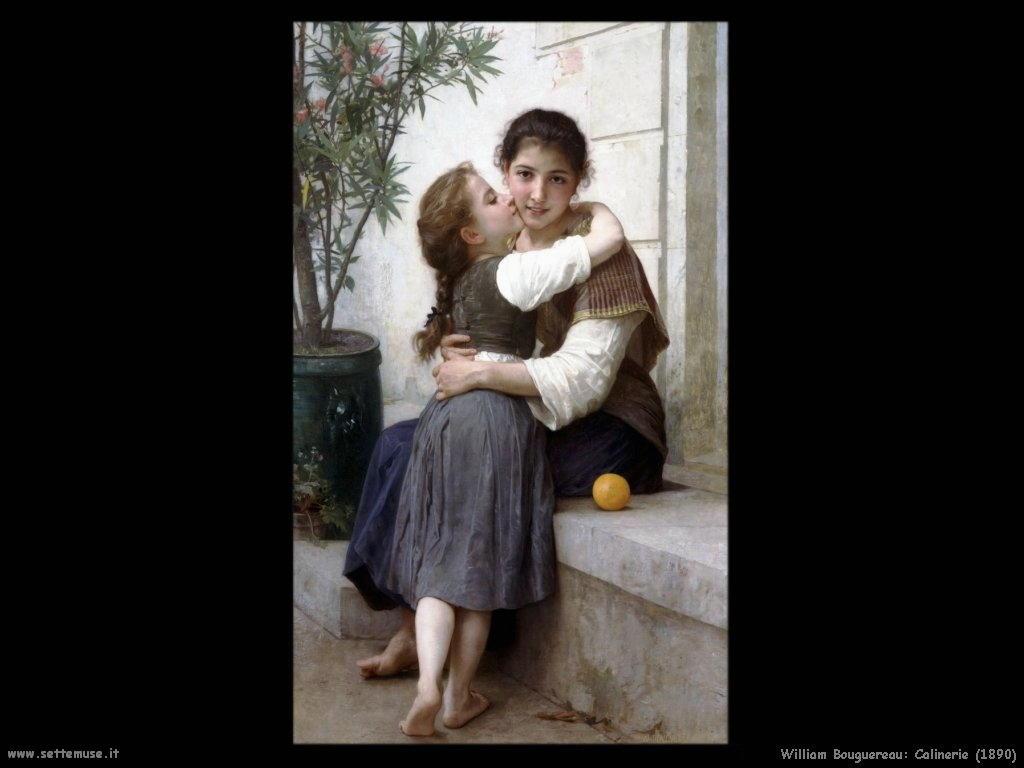 William Bouguereau _calinerie_1890