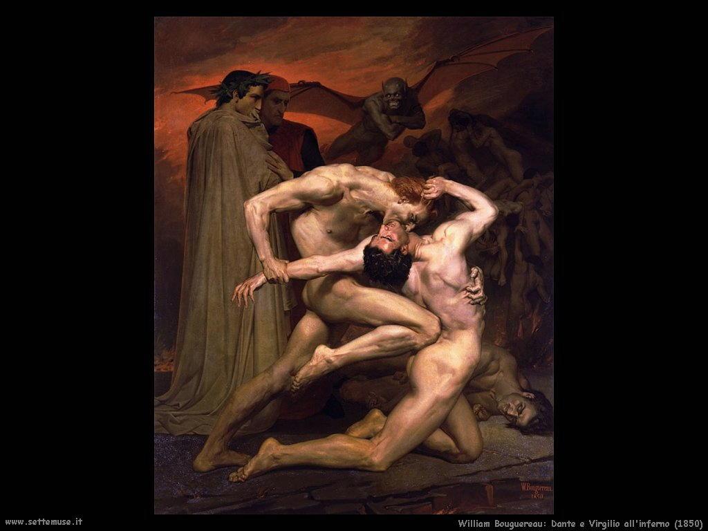 William Bouguereau _dante_e_virgilio_all_inferno_1850
