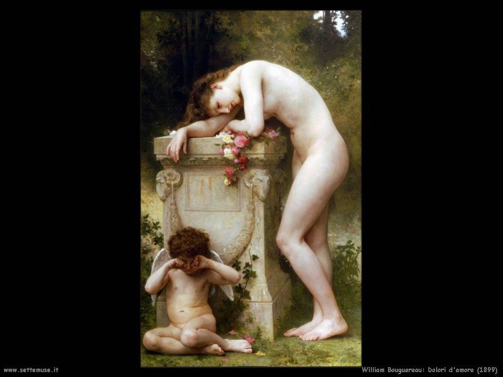 William Bouguereau _dolori_damore_1899