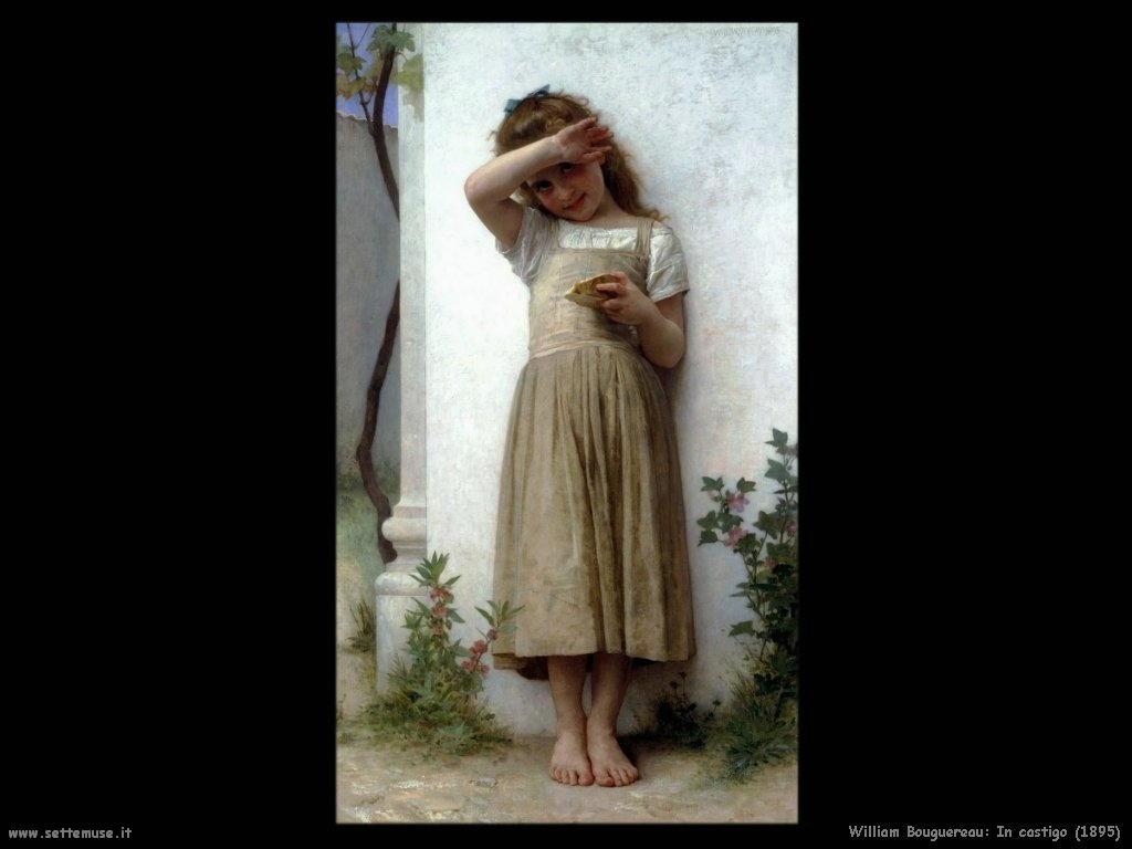 William Bouguereau _in_castigo_1895