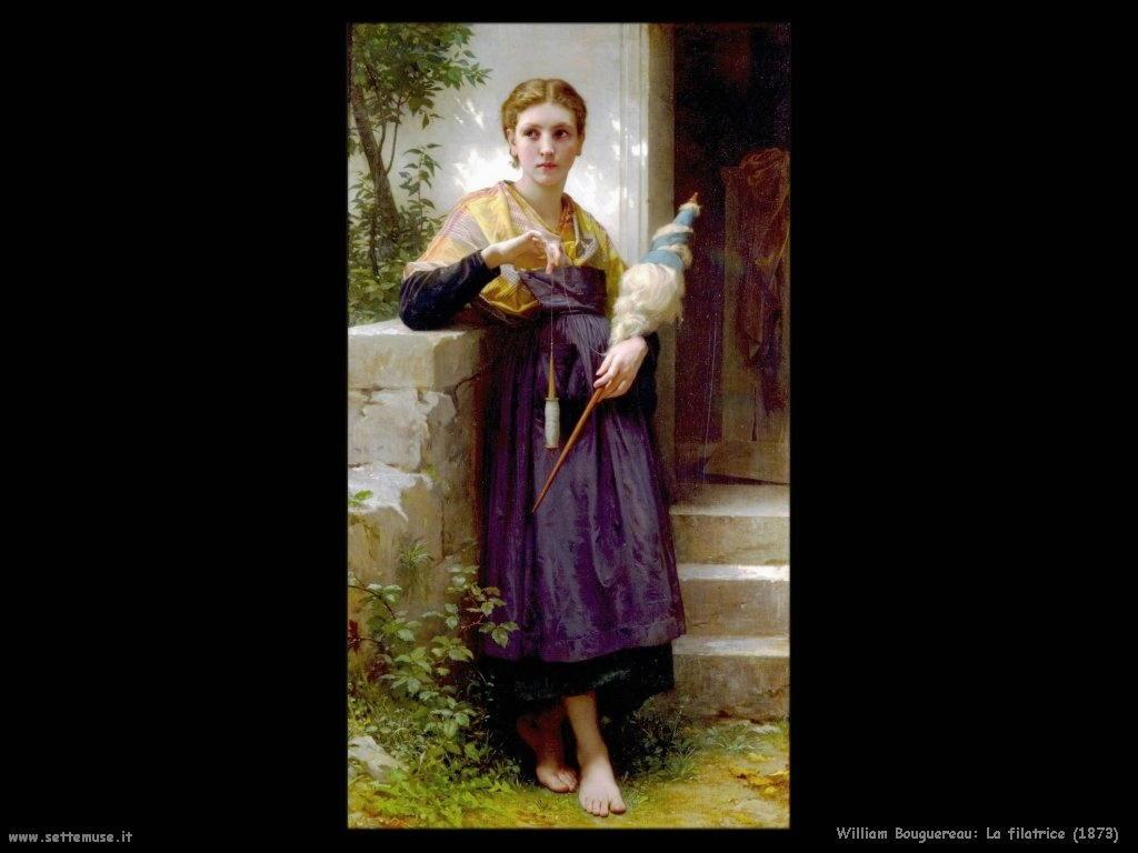 William Bouguereau _la_filatrice_1873