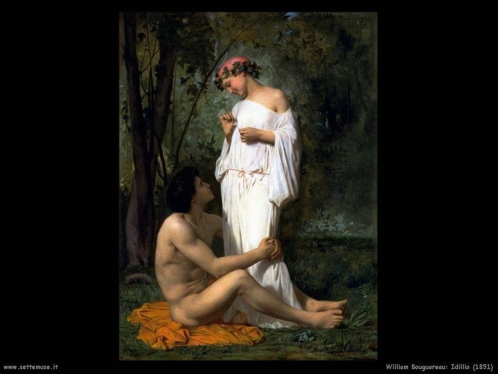 William Bouguereau _idillio_1851