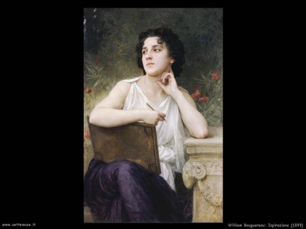 William Bouguereau _ispirazione_1898