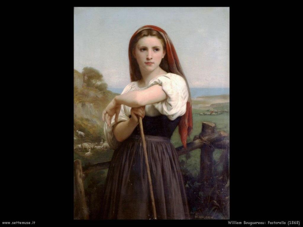 William Bouguereau _pastorella_1868