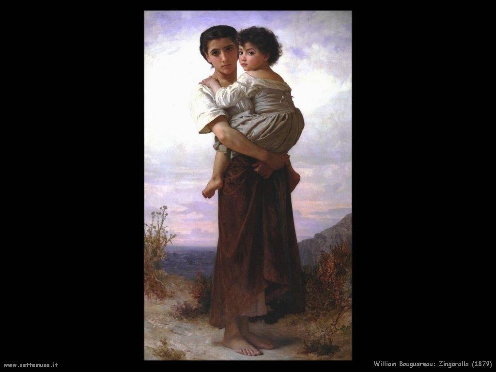 William Bouguereau _zingarella_1879
