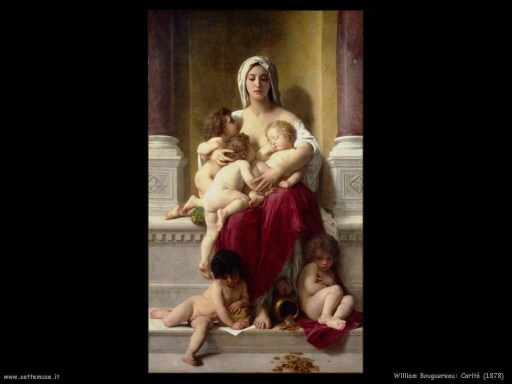 William Bouguereau _carità1878