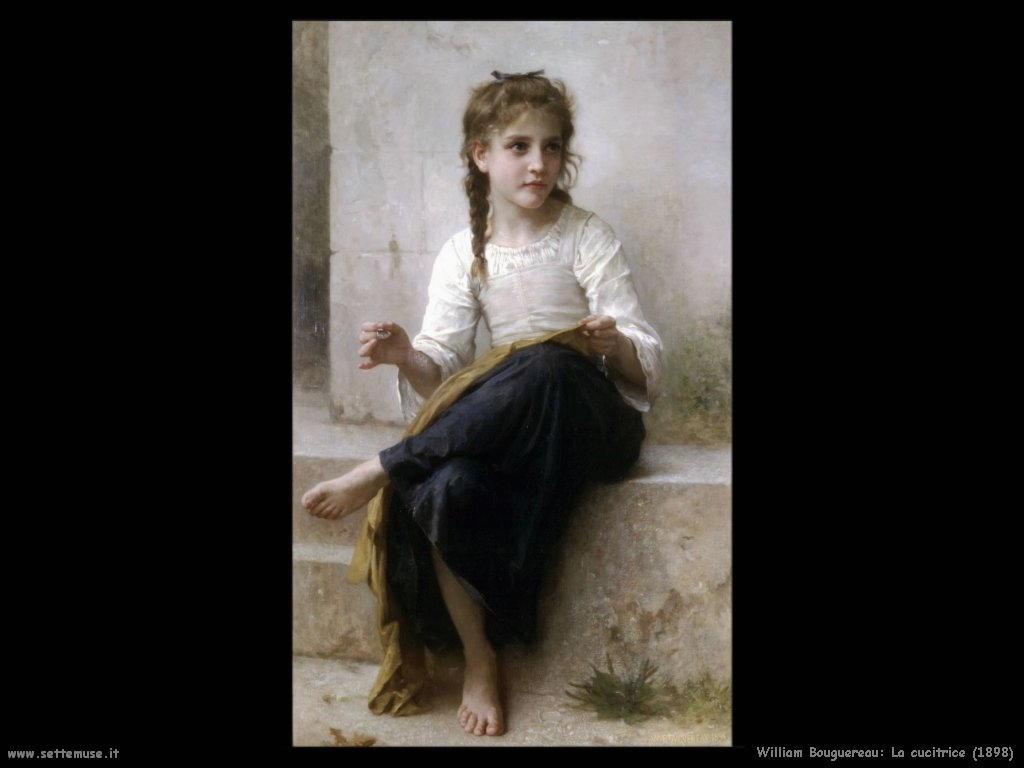 William Bouguereau _la_cucitrice_1898