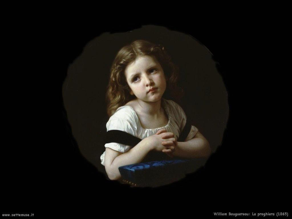 William Bouguereau _la_preghiera_1865