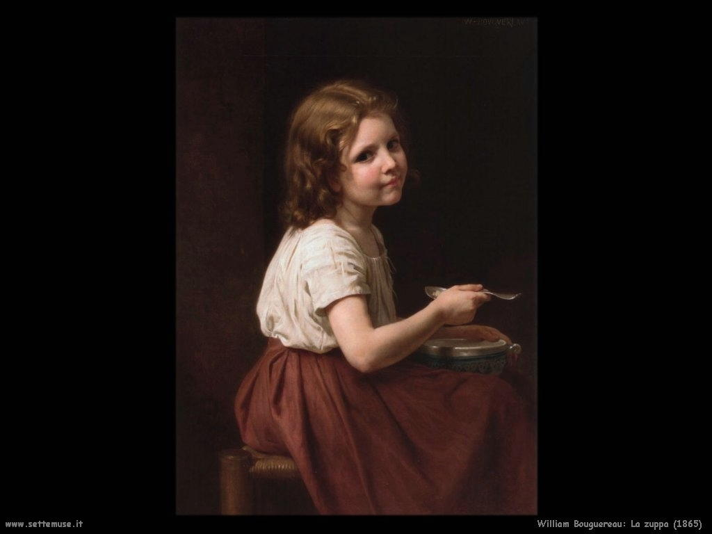 William Bouguereau _la_zuppa_1865