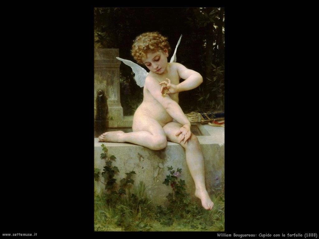William Bouguereau _cupido_con_farfalla_1888
