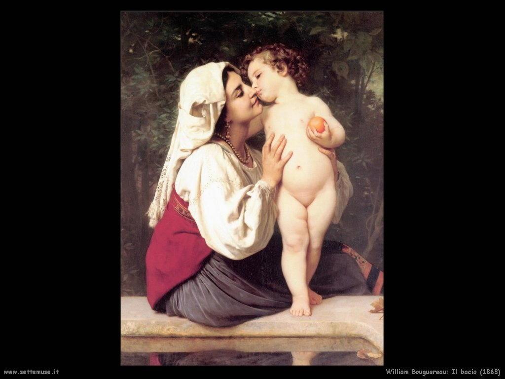 William Bouguereau _il_bacio_1863