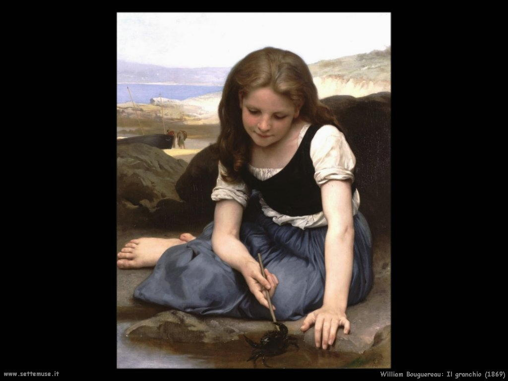 William Bouguereau _il_granchio_1869